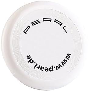 PEARL Frisbee Wurfscheibe mit 23 cm Durchmesser