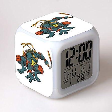 dongwenchao1104 Colorido Despertador De Resplandor ...