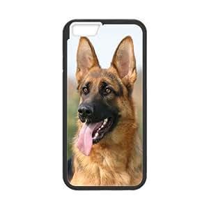 "AKERCY German Shepherd Dog Phone Case For iPhone 6 Plus (5.5"") [Pattern-1]"