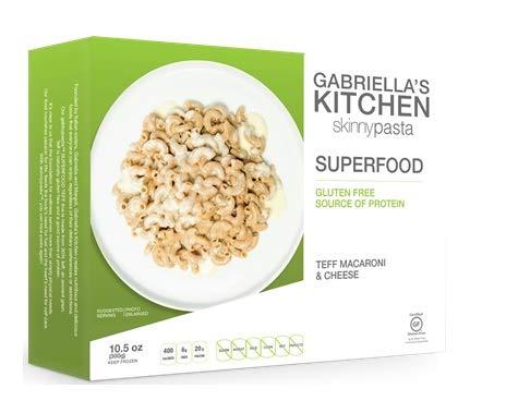 Gabbypasta Superfood Teff Macaroni & Cheese, 8.8 oz (Pack of 6)