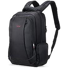 Uoobag Tigernu Series Business Laptop Backpack Slim Anti Theft Travel Computer Backpacks Environmentally Waterproof Laptops Bag For Men/Women 15.6Inch Black