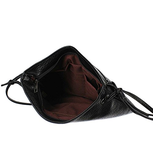 Antonio Damen Umhängetasche schwarz