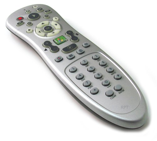 Genuine Dell RC1534034/00 Microsoft RC6 Infrared (IR) Remote Control For Use With Microsoft Windows 7, Vista, and Media Center ()