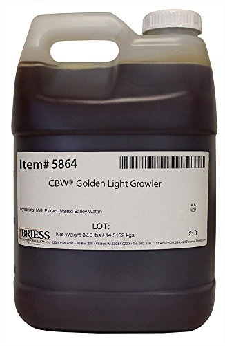 Briess 5864 Liquid Malt Extract 32 lb. Growler, Golden Light by Briess (Image #1)