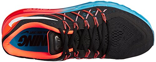 Nike Air Max 2015 - Zapatos para correr para hombre Orangefarbig-Schwarz