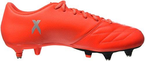 Rojo de para 3 Botas 16 X SG Plamet fútbol Adidas Rojsol Hombre Leather Roalre Tw6qxv