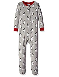 Amazon Essentials Toddler and Baby Zip-Front Footed Sleeper