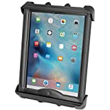 RAM Mounts RAM-HOL-TAB8U Tab-Tite Tablet Suporte para Apple iPad Pro 9.7 com capa + mais compatível com bases redondas de tam