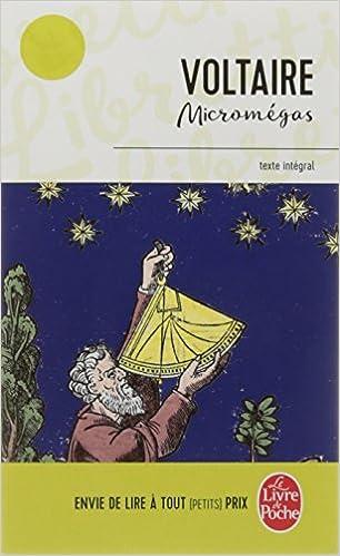 Micromegas Le Livre De Poche French Edition Voltaire