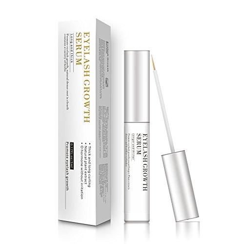 Eyelash Enhancers Nourishing Serum, Makeup Lash Rapid Growth Liquid Enhancer Serum Thicker Longer Luscious Eyelashes Renew with Blackhead Remover Mask
