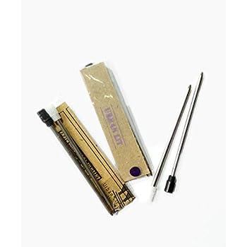 .7mm Black Ballpoint Writing Ink Pen Refill Replaceable Cartridge