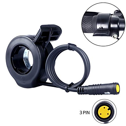 Sothat Acc/éL/éRateur au Pouce pour Kits de Conversion pour V/éLos /éLectriques Moteur Bafang Mid Drive 36V 48V 52V 250W 500W 750W 1000W /éTanche 3 Broches Femelle