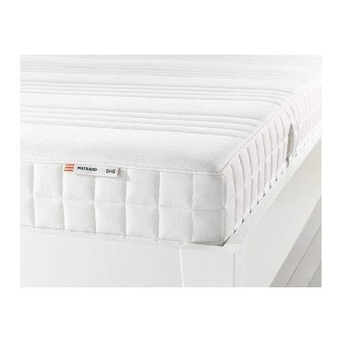 IKEA MATRAND Memory Foam Mattress(Queen Size), Firm, White