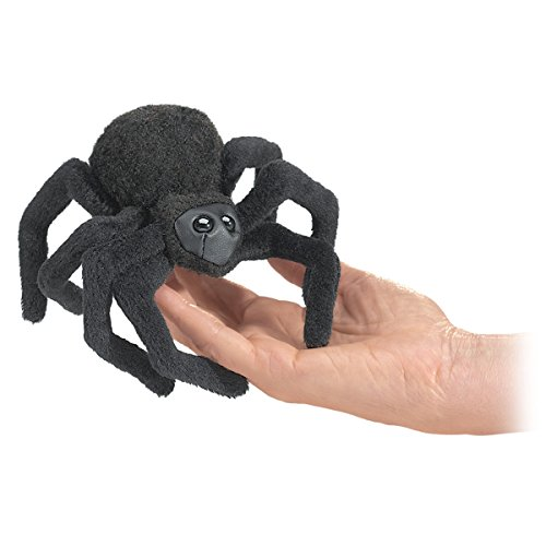 Folkmanis Mini Spider Finger Puppet]()