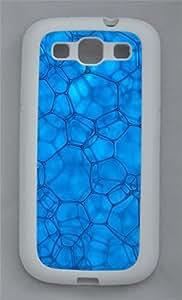Bubbles TPU Case Cover for Samsung Galaxy S3 I9300 White