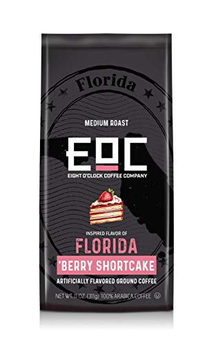 Eight O'Clock Coffee Flavors of America, Florida Berry Shortcake, 11 Ounce Blueberry Streusel Coffee Cake