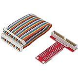 SUNROBOTICS Raspberry Pi T-Cobbler Breakout Kit for Raspberry Pi with GPIO Cable