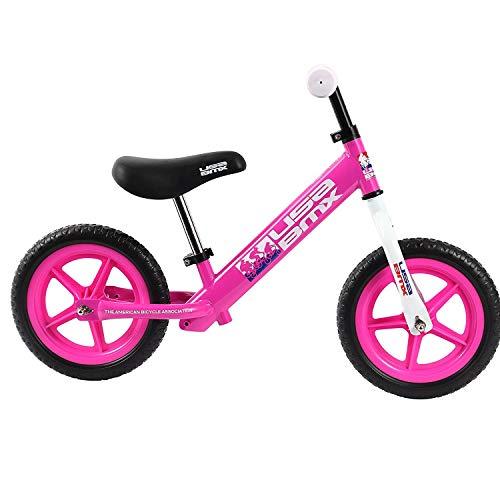 """USA BMX Balance Bike, 12"""", Pink"""