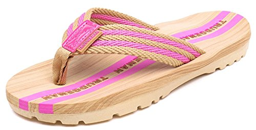 Donna Ciabatte Pantofole Da Uomo Flops Infradito Flip Spiaggia Mare Sandali  Piscina Rosa E Per YEqxZ0 374c18f69d9
