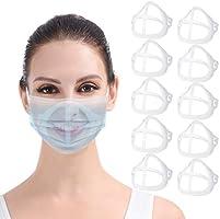 DISEN 10 Stück Masken Unterstützung Innere Stützrahmen, Wiederverwendbare 3D Maske-Bracket Silikon Maskenhalterung...