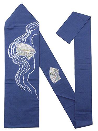 マットレスレーニン主義モナリザリサイクル 名古屋帯 紬 絞り 流水に地紙文 正絹