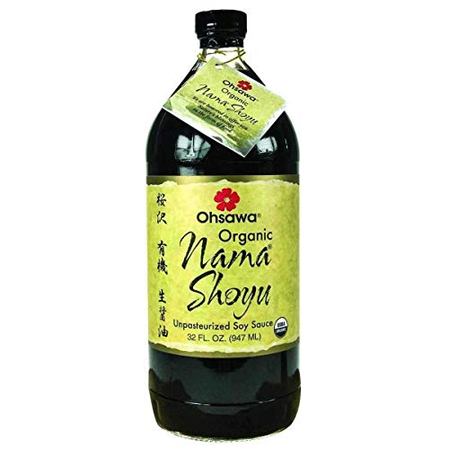 Ohsawa Organic Nama Shoyu - 32 oz - Case of 3