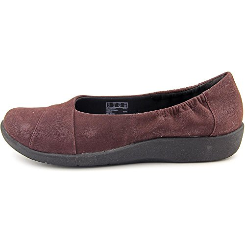 Clarks Womens Sillian Intro Burgundy Synthetic Nubuck kTIwrzq