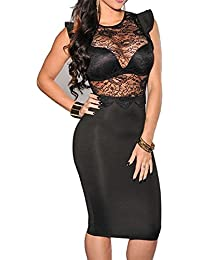 Black club dress plus size
