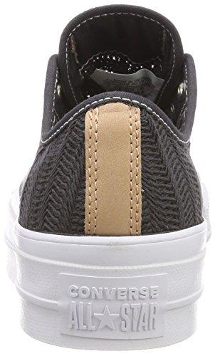 049 Converse Black Ox CTAS Black Almost Almost Zapatillas Negro para Almost Black Lift Mujer waOqTwr