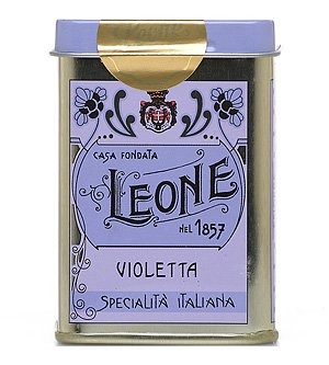 Violet Candies Tin 1.4 oz by Leone