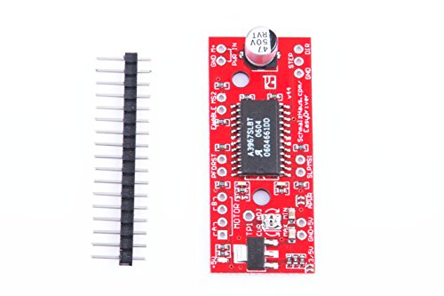 (KNACRO New A3967 Easydriver V44 Shield Stepper Stepping Motor Driver Board for Arduino)