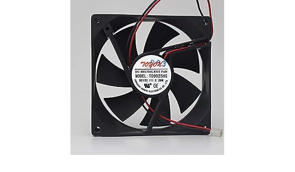For TONON TD9025HS 12V 2.28W 9CM 9025 909025MM cooling fan
