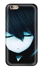 New Black Rock Shooter Tpu Skin Case Compatible With Iphone 6
