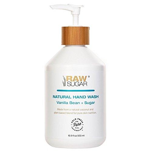 (Raw Sugar Vanilla Bean Sugar Natural Hand Wash 16.9oz)
