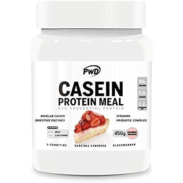 CASEIN PROTEIN MEAL 450gr. (Strawberry Cheesecake): Amazon.es ...