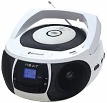 Nevir NVR-481UB - Radio CD con Bluetooth y USB, color blanco ...