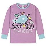 Gerber Baby Girls' 4-Piece Pajama Set, Blue