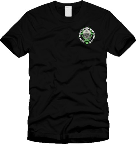 Zombie Outbreak Containment with Skull T-shirt - Neon Green (L)