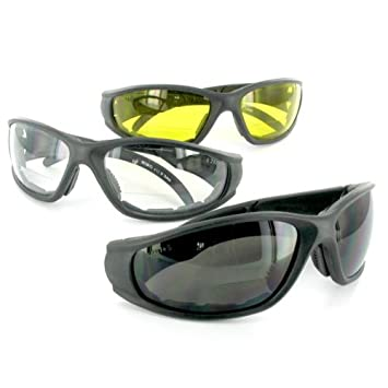 83c750ca75 Sportster Bifocal Sunglasses and Safety Glasses with Non-Prescription  Reading Lens (Yellow +1.50)  Amazon.co.uk  Health   Personal Care