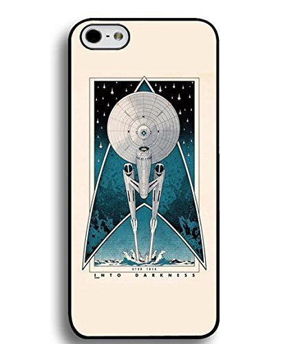 FireworkArt Vintage Star Trek Phone Case [Customizable by Buyers] [Create Your Own Phone Case] Slim Fitted Hard Protector Cover for iphone 5 (Create Your Own Phone Case Iphone 5)