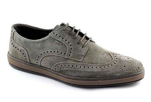 IGI&CO 47686 peltro scarpe uomo sportive eleganti puntale inglese 44