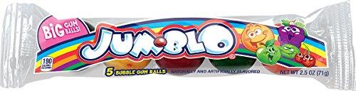 Rainblo Jum-Blo Gum Balls, Assorted Fruit Flavors, 2.5 oz ()