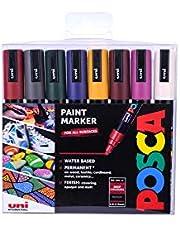 POSCA 153544865 1 mm Fine Tip Waterbased Paint Marker