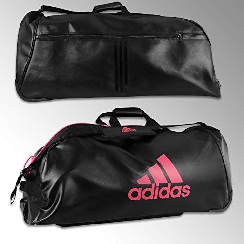 adidas Sac de Sport à roulettes Noir Rose: