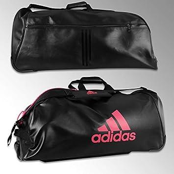 467998a3e9 adidas - Sac de Sport à roulettes Noir Rose: Amazon.fr: Sports et ...