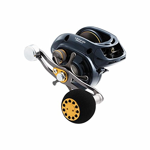 Daiwa LEXA-HD400H-P Lexa Type HD Baitcasting Reel, 6.3: 1 Gear Ratio, 7 Bearings, 33.40