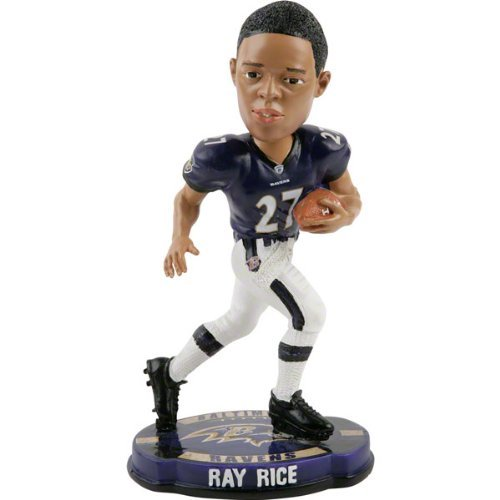 Ray Rice Baltimore Ravens 2012 NFL Forever Collectibles Bobble Head