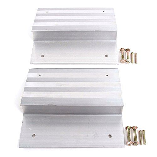 Ramp Aluminum Truck Top End Kit With Hardware Heavy Duty Loading ATV Mower Motorcycle 8