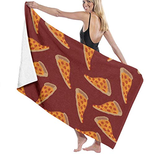 - NiYoung Premium Bath Towels Wash Cloths for Home, Hotel, Spa, Pool - Delicious Pizza Towels, Ultra Soft Shower & Bath Towel Extra Large High Absorbency Bathroom Towel
