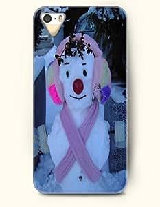 SevenArc iPhone 5 5s Case - Snowladu With Earmuff And Pink Scarf